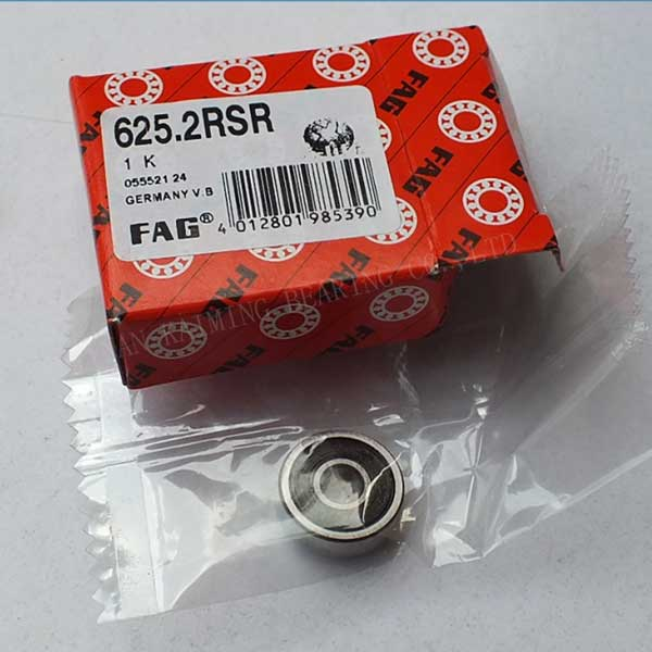 625-2RSR FAG Radial Ball Bearing 5X16X5