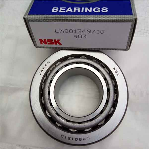 Original Japan NSK single row tapered roller bearing LM801349/10