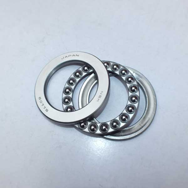Original NSK single row thrust ball bearing 51109